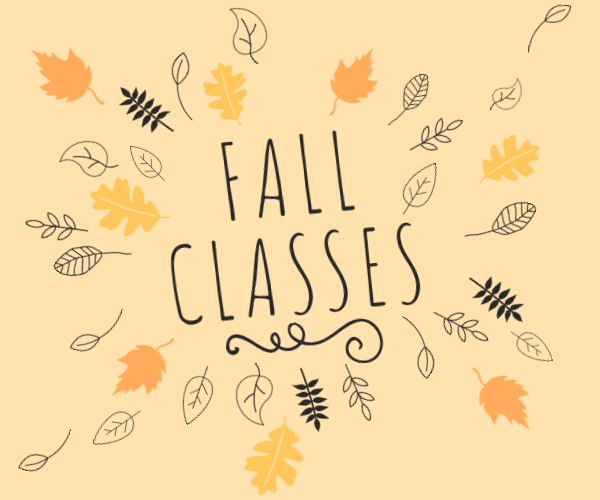 fall classes(1)